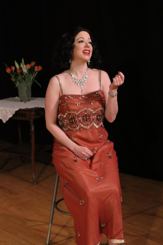 Heather Massie as Hedy Lamarr - by Monica Callan
